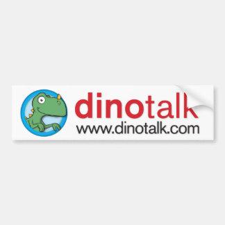 Dino Portal Bumper Sticker