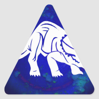 DINO PRODUCTS TRIANGLE STICKER