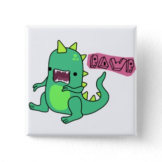 Dino Rawr button
