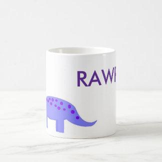 dino rawr ♥ coffee mug
