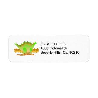 Dino Rawr Label