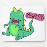 Dino Rawr Mouse Pad