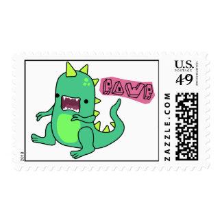 Dino Rawr Postage