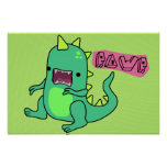 Dino Rawr Posters