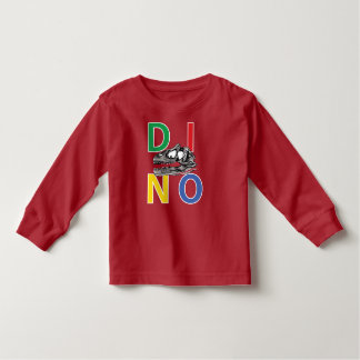 DINO - Red Toddler Long Sleeve T-Shirt