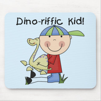 Dino-riffic Kid T-shirts and Gifts Mouse Pad