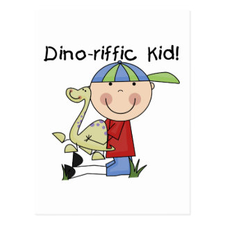 Dino-riffic Kid T-shirts and Gifts Postcard