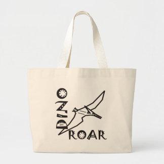 Dino Roar Dactyl Large Tote Bag
