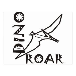 Dino Roar Dactyl Postcard
