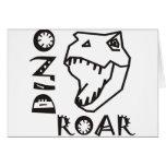 Dino Roar Greeting Card