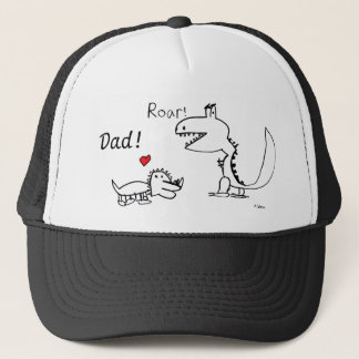 Dino Roaring, You Are Special, Papa and Son Trucker Hat