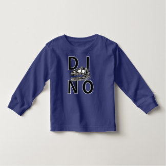 DINO - Royal Blue Toddler Long Sleeve T-Shirt