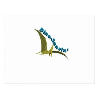 Dino-Saurin Postcard