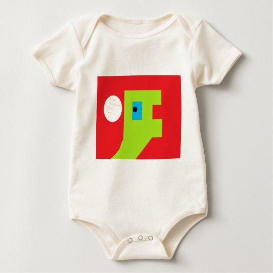 Dino says baby bodysuit