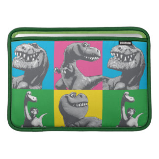 Dino Silhouette Four Square MacBook Air Sleeve