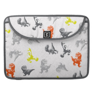 Dino Silhouette Pattern Sleeve For MacBook Pro