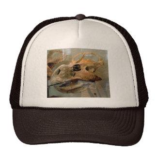 Dino Skull Oil Painting Trucker Hat