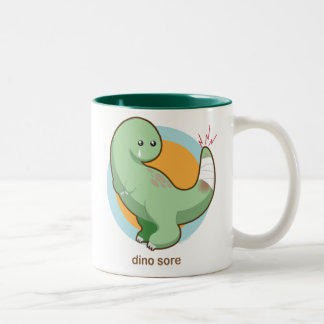 Dino Sore Mugs