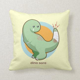 Dino Sore Pillow