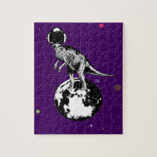 dino spaceman jigsaw puzzle