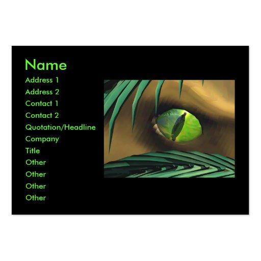 Dino Spy - Chubby Business Card Template