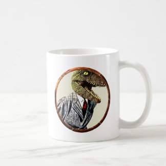 Dino suit coffee mug
