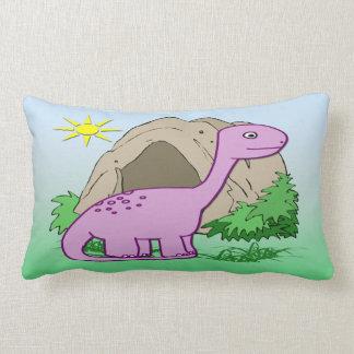 Dino the Dinosaur Cute Kid's American MoJo Pillows