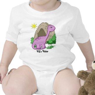 Dino the Dinosaur Cute Kid's Infant Creeper