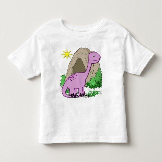 Dino the Dinosaur Cute Kid's Toddler T-shirt