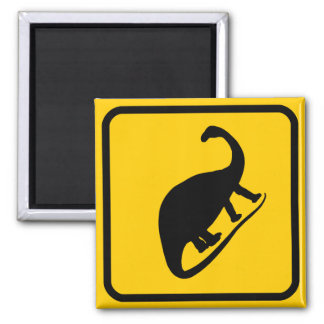 Dino Xing Sign Magnet