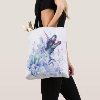 Dinocorn Baby | Crystal Dinosaur Unicorn Diaper Tote Bag