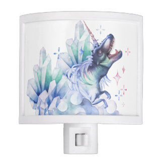 Dinocorn Baby | Crystal Fantasy Dinosaur Unicorn Night Light