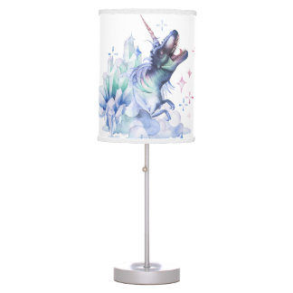 Dinocorn Decor | Crystal Fantasy Dinosaur Unicorn Desk Lamp