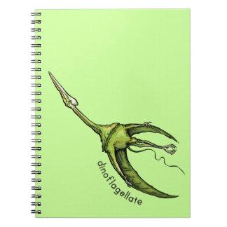 Dinoflagellate Spiral Note Book
