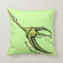 Dinoflagellate Throw Pillow