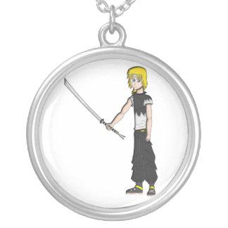 Dinomight10 Manga Necklace