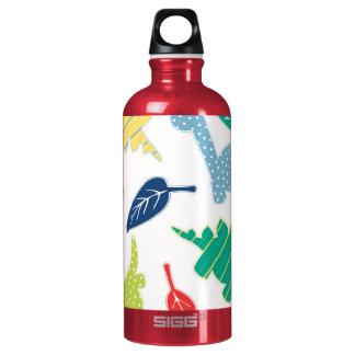 Dinomite! Cute Colorful Dinosaur Pattern Water Bottle