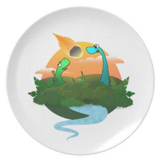 Dinopocalypse Plate