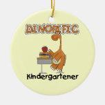 Dinorific Kindergartener T-shirts and Gifts Christmas Tree Ornament
