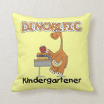 Dinorific Kindergartener T-shirts and Gifts Throw Pillows