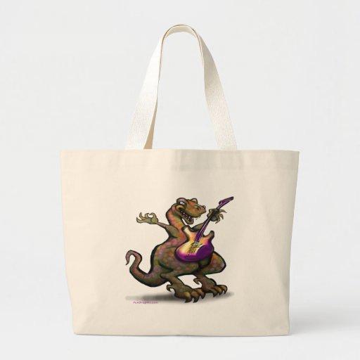 DinoRock Canvas Bag