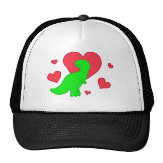 Dinos are love trucker hat