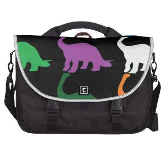 Dinos coloreado bolsas de portatil