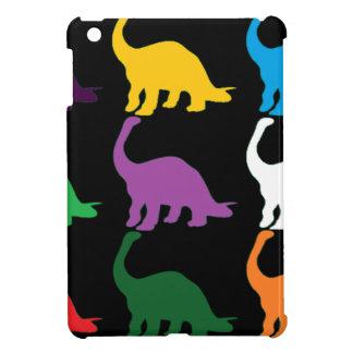 Dinos coloreado iPad mini carcasas