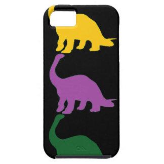 Dinos coloreado iPhone 5 protectores