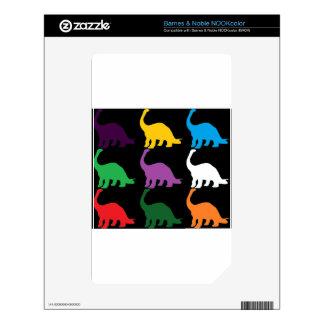 Dinos coloreado NOOK color skin