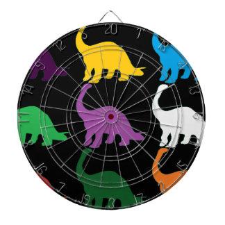 Dinos coloreado tabla dardos