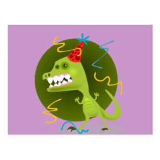 Dino's Rock - Dinosaur Birthday Party Post Cards