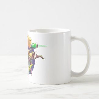 Dinos with Rayguns! Coffee Mug