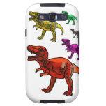 ¡Dinos y más Dinos oh mi! Samsung Galaxy S3 Carcasas